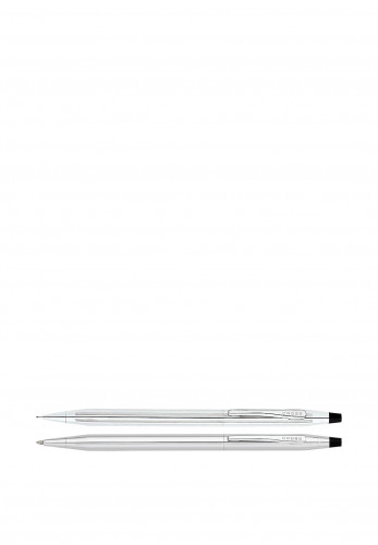 Cross Classic Chrome Pen And Pencil Set, Silver