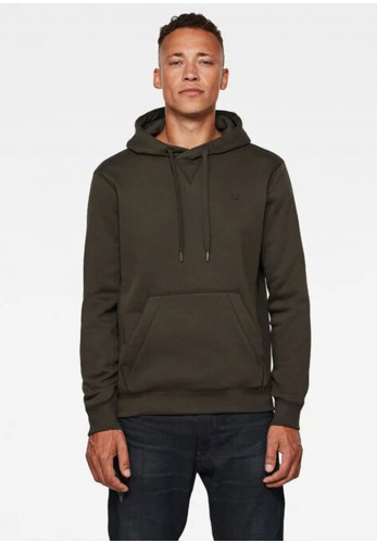 G Star Raw Mens Premium Core Hoodie, Asfalt