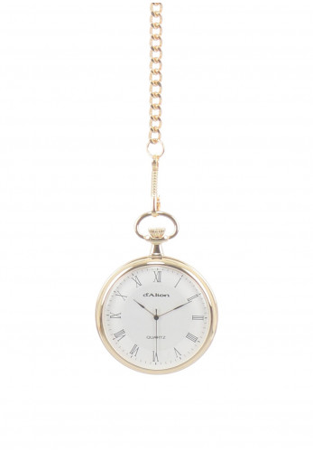 d'Alton Quartz Pocket Watch, Gold