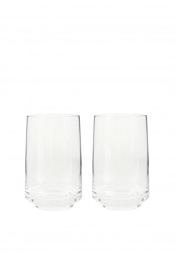 Denby Natural Canvas Large Tumblers Glasses Set of Two