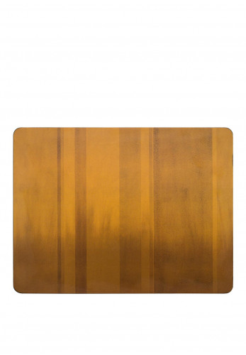 Denby Colours Mustard Ombre  Placemats Set Of 6