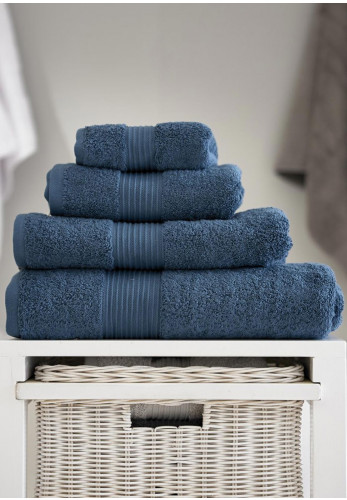 Deyongs Bliss Pima Cotton Towels, Petrol