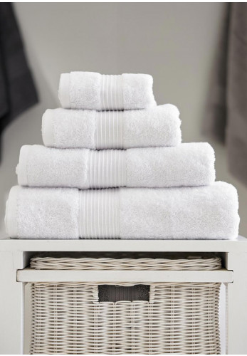 Deyongs Bliss Pima Cotton Towels, White
