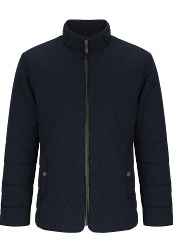 Douglas Mens Hardy Casual Jacket, Navy
