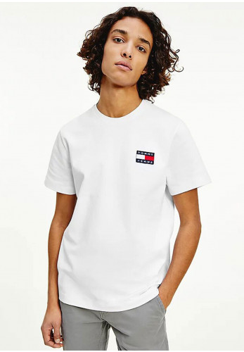 Tommy Jeans Tommy Badge T-Shirt, White
