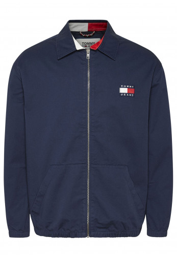 Tommy Jeans Casual Cotton Jacket, Twilight Navy