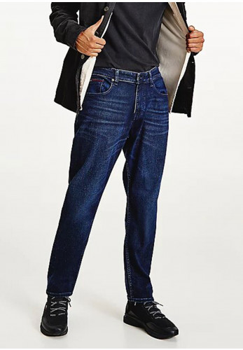 Tommy Jeans Ryan Relaxed Straight Jeans, Denim Dark