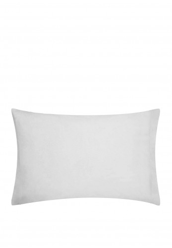 Dorma Housewife Pillowcase 300TC, Silver