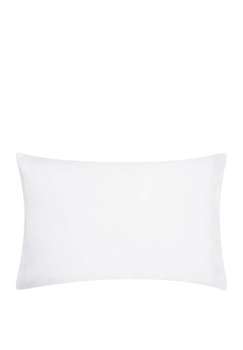 Dorma Oxford Pillowcase 300TC, White