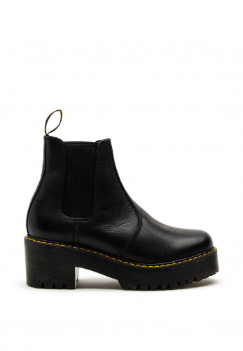 Dr. Martens Rometty Leather Chelsea Boots, Black