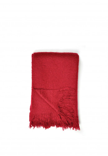 Dreams & Drapes Alexa Throw, Red