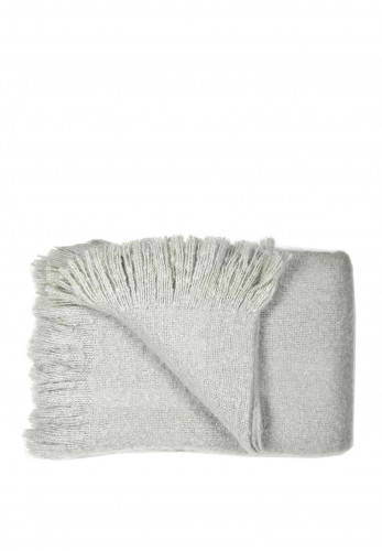Dreams & Drapes Alexa Throw, Grey