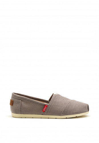 Drilleys Classic Canvas Shoe, Grey