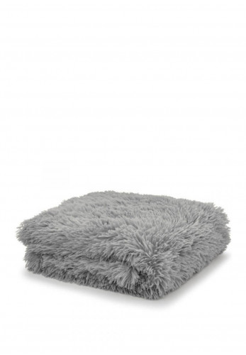 Catherine Lansfield Soft Cuddly Throw, Charcoal