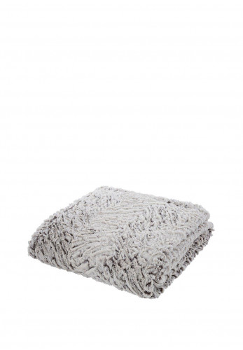 Catherine Lansfield So Soft Wolf Throw, Neutral
