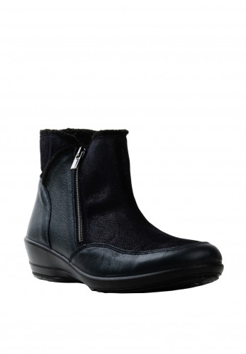 Dubarry Erna E Wider Fit Leather Ankle Boots, Navy