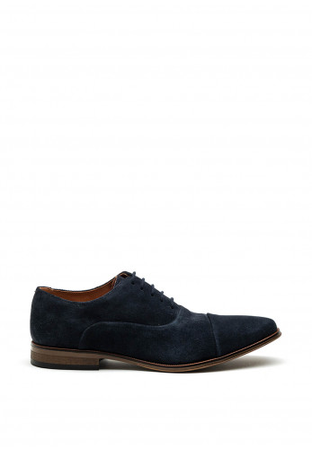 Dubarry Mens Sigfield Suede Formal Shoe, Navy