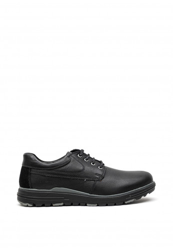 Dubarry Mens Brennan Leather Shoe, Black