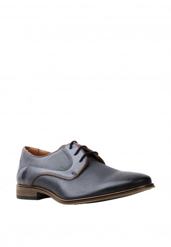 Dubarry Dacey Leather Derby Shoe, Blue