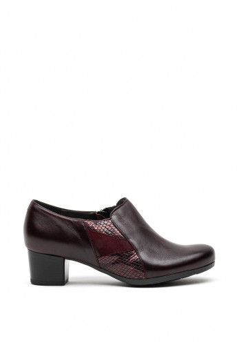 Dubarry Womens January Leather Heel Shoes, Wine