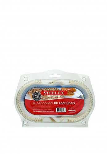 Dunlevy Steelex 40 Siliconised 1lb Loaf Liners