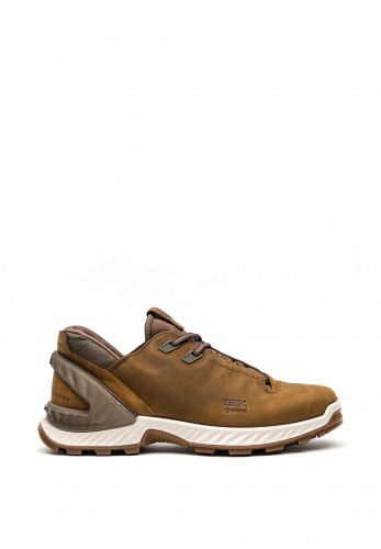 Ecco Mens Gore-Tex Exohike Shoe, Cayote