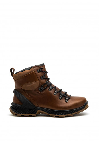 Ecco Mens Exohike Water Repellent Boots, Brown