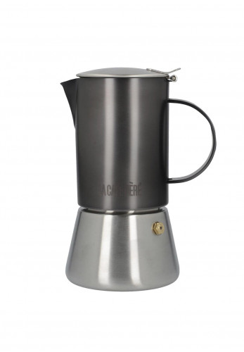 Edited by La Cafetiere Stovetop, Gunmetal and Brushed Chrome