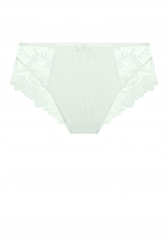 Empreinte Louise Lace Trim Briefs, Menthe Green