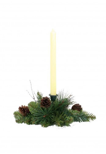 Enchante Pine Cone Candle Holder