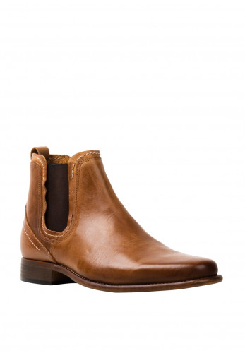 Escape Mens Austin Leather Chelsea Boot, Tan