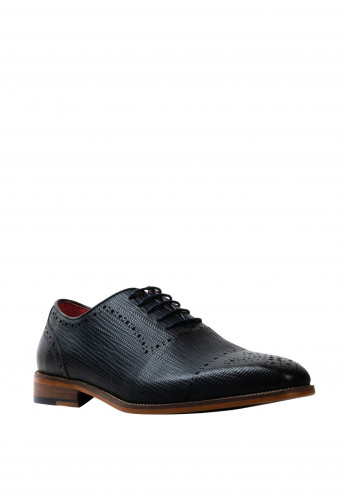 Escape Edge Leather Derby Shoe, Marine