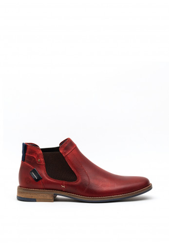 Escape Fast Company Leather Chelsea Boot, Rouge