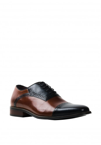 Escape Elita Leather Panelled Shoe, Brandy