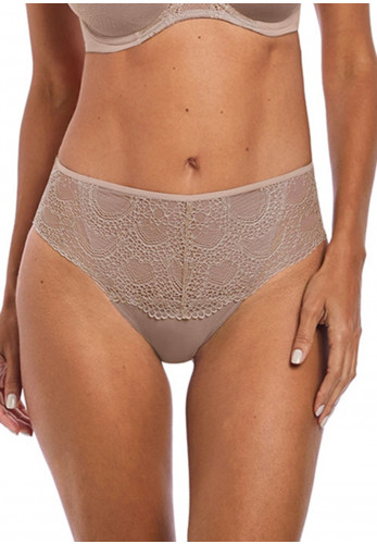 Fantasie Twilight Lace Front Briefs, Fawn