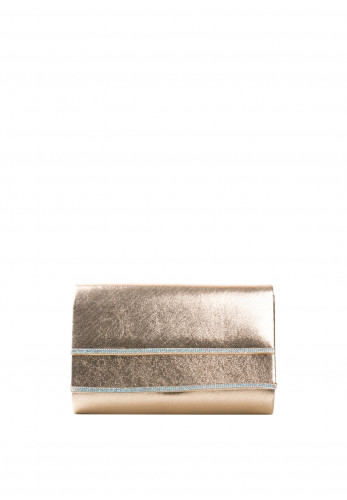 Glamour Susan Embellished Clutch Bag, Gold