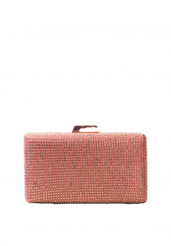 Zen Collection Sparkle Clutch Bag, Pink