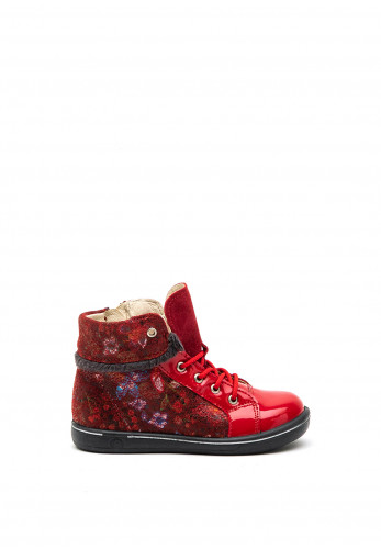 Pepino Baby Chilbie Leather Boots, Red