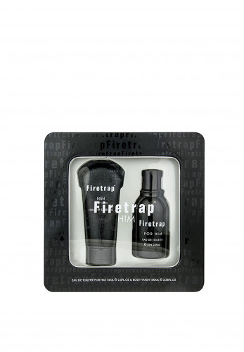 Firetrap Him 75ml EDT Gift Set