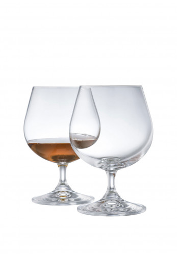 Galway Crystal Elegance Brandy Balloon Glass Pair