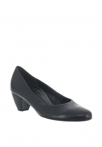 Gabor Block Heeled Pumps, Navy