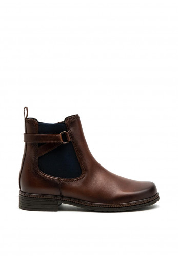 Gabor Chelsea Leather Ankle Boot, Brown