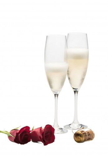 Galway Crystal Elegance Prosecco Glass Pair