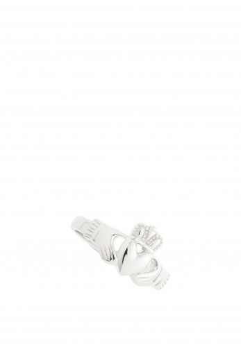 Galway Crystal Ladies Claddagh Sterling Silver Ring