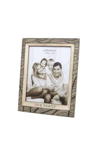 Genesis Our Family Photo Frame, 10 x 8""