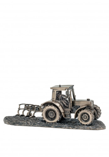 Genesis Tractor and Plough Ornament