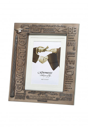 "Genesis Graduation Photo Frame 5"" x 7"""