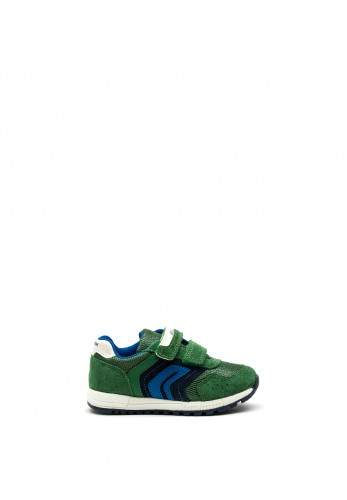 Geox Boys Alben Runners, Green