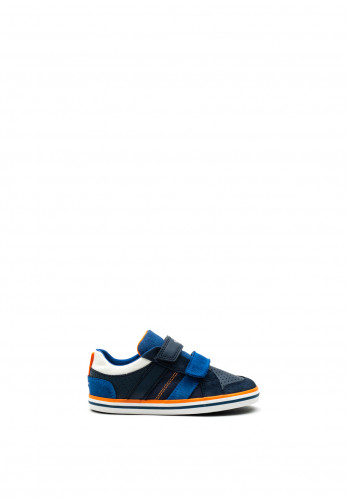 Geox Boys Kilwi Runners, Navy Blue Mix