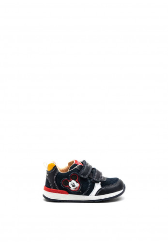 Geox Baby Boy Mickey Mouse Rishon Trainer, Navy Multi